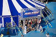 Linz, Austria. HÖHENRAUSCH.3<br /> Die Kunst der Türme (The Art of Towers)<br /> Bewegungszirkus (Circus of Movement)