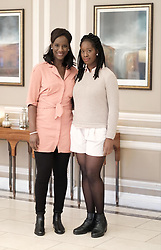 Edinburgh International Film Festival, Thursday 29th June 2017<br /> <br /> 1745 Short Film<br /> <br /> Sisters Moyo and Morayo Akande, and Mary Jean Walsh, all from Glasgow from the short film '1745' attended a drinks reception in the Waldorf Astoria Caledonian Hotel <br /> <br />  <br /> <br /> (c) Alex Todd | Edinburgh Elite media