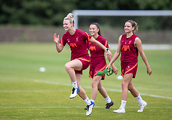 WALLASEY, ENGLAND - Wednesday, July 28, 2021: Liverpool's Rhiannon Roberts during a training session at The Campus as the team prepare for the start of the new 2021/22 season. (Pic by David Rawcliffe/Propaganda)