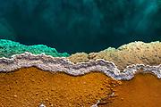 Yellowstone Thermal Pool around Lakeside.