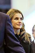 Princess Letizia attended the 33rd edition of the international Tourism fair (FITUR) in Madrid.