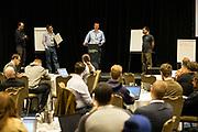 The Linux Foundation hosts its Linux Storage Filesystem & MM Summit 2017 at the Hyatt Regency Cambridge in Cambridge, Massachusetts, on March 21, 2017. (Stan Olszewski/SOSKIphoto)