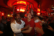Paris, France. June 27th 2006..During the game France Vs Spain. .World Cup 1/8 finals.