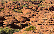 Sandstone domes at King's Canyon, Northern Territory, Red Centre, Australia