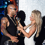 MON/Monaco/20140527 -World Music Awards 2014, Flo rida en Pamela Anderson