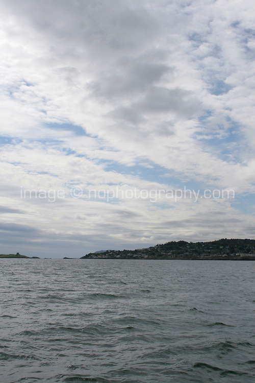 View of Dalkey and Killiney from the sea
