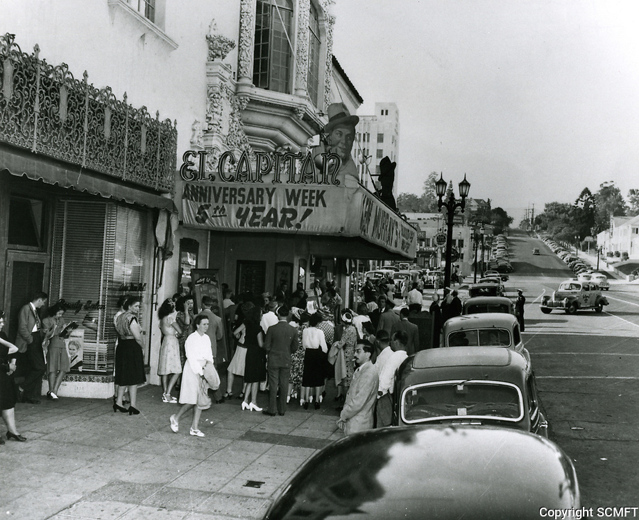 1947 Ken Murray's Blackouts at the El Capitan Theater on Vine St.