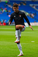 Bournemouth defender Gary Cahill (24) during the pre-match warm-up before the EFL Sky Bet Championship match between Cardiff City and Bournemouth at the Cardiff City Stadium, Cardiff, Wales on 18 September 2021.