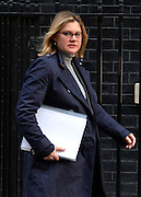 © Licensed to London News Pictures. 05/02/2013. Westminster, UK Int. Development Secretary.Justine Greening Cabinet Ministers arrive for the weekly Cabinet meeting on 5th February 2013. Photo credit : Stephen Simpson/LNP