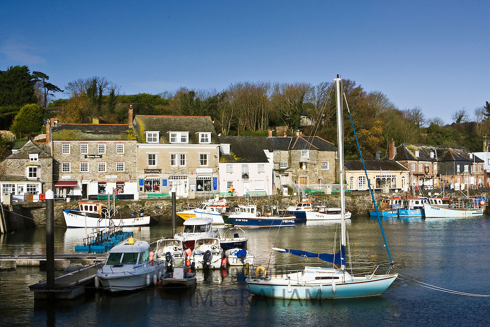 Padstow Harbour, Cornwall, South West England, United Kingdom