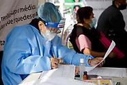 People Undergo Rapid Testing in Mexico