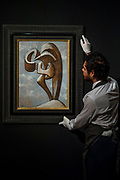 Figure, 1930, by Pablo Picasso, est £3-5m - Christie's unveil an exhibition of in advance of their Art of the Surreal sale on 27 February.