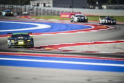 September 16, 2016 - Austin, USA - 98 ASTON MARTIN RACING (GBR) ASTON MARTIN V8 VANTAGE LMGTE AM PAUL DALLA LANA (CAN) PEDRO LAMY (PRT) MATHIAS LAUDA  (Credit Image: © Panoramic via ZUMA Press)