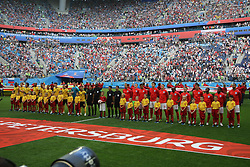 July 14, 2018 - St. Petersburg, Russia - July 14, 2018, St. Petersburg, FIFA World Cup 2018, Football match for the third place in the World Cup. Football match of Belgium - England at the stadium of St. Petersburg. Player of the national team (Credit Image: © Russian Look via ZUMA Wire)