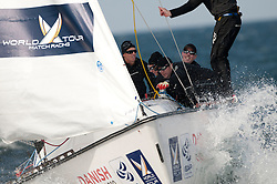 Torvar Mirsky (AUS) Mirsky Racing Team . Danish Open 2010, Bornholm, Denmark. World Match Racing Tour. photo: Loris von Siebenthal - myimage