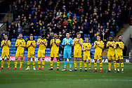 Oxford United applaud prior to kick off during the EFL Sky Bet League 1 match between Oxford United and Peterborough United at the Kassam Stadium, Oxford, England on 16 February 2019.