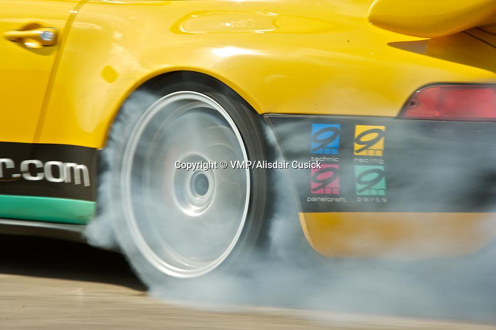 1993-97 Porsche 911 993 Carrera RSR, performance testing at Elvington Airstrip