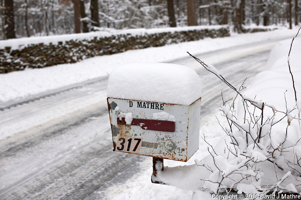 Winter in New Jersey