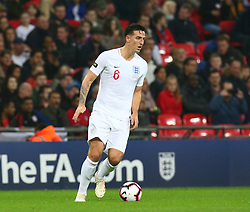November 15, 2018 - London, United Kingdom - England's Lewis Dunk in Action.during the friendly soccer match between England and USA at the Wembley Stadium in London, England, on 15 November 2018. (Credit Image: © Action Foto Sport/NurPhoto via ZUMA Press)