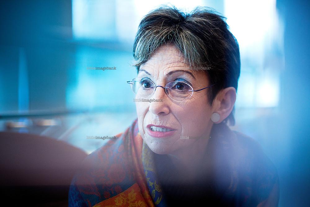 Oslo, Norge, 19.01.2012. Retorikkprofessor Ruth Wodak fotografert på Rica Hotel i Grensen. Foto: Christopher Olssøn.
