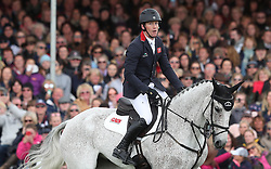 Oliver Townend completes his round on Ballaghmor Class and finishes second during day four of the 2019 Mitsubishi Motors Badminton Horse Trials at The Badminton Estate, Gloucestershire.