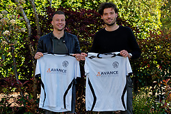 Mitch van der Vlist and Glenn Geefshuijsen (R) plays next season for VV Maarssen sat 1. He comes from the Sportlust'46 from Woerden on may 05, 2020 in Maarssen, Netherlands