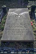 Płyta nagrobna Wojciecha Głowackiego, Kielce<br /> Gravestone of Wojciech Głowacki, Kielce