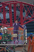23.07.2014. Glasgow, Scotland. Glasgow Commonwealth Games. The opening ceremony. Scottish entertainer John Barrowman