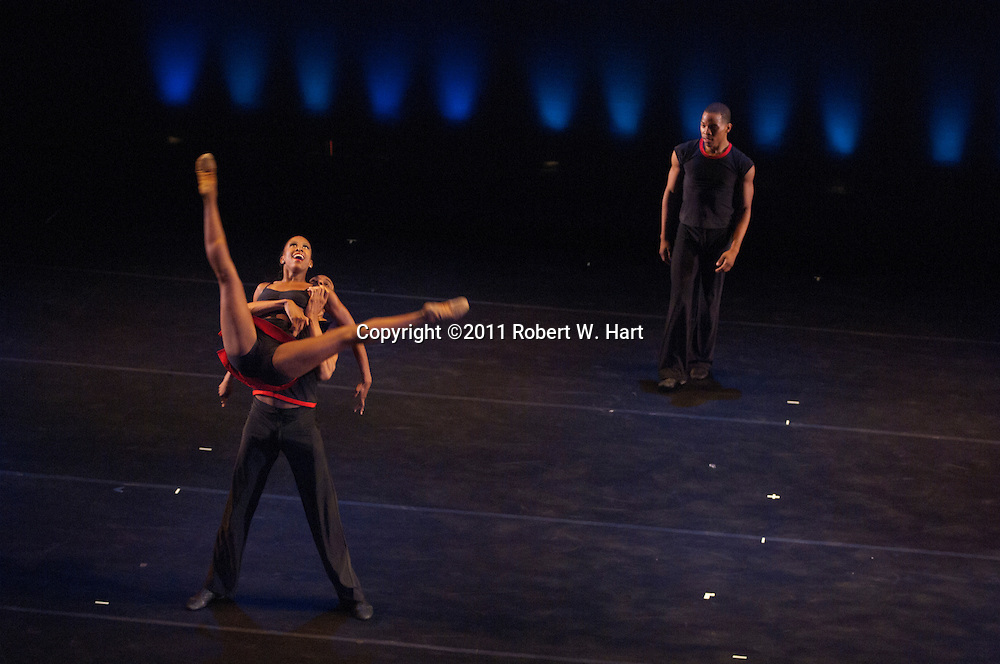 DBDT dancers perform at the Wyly Theater in Dallas on May 25, 2011. ..Photographer: Robert W. Hart