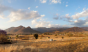Afternoon light over rural Oaxaca, an area in southern Mexico is known for its artisan communities, with each valley having a different specialism - weaving, pottery, wood carving.