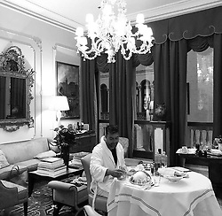 """Ricky Martin releases a photo on Twitter with the following caption: """"""""📸: @jwanyosef"""""""". Photo Credit: Twitter *** No USA Distribution *** For Editorial Use Only *** Not to be Published in Books or Photo Books ***  Please note: Fees charged by the agency are for the agency's services only, and do not, nor are they intended to, convey to the user any ownership of Copyright or License in the material. The agency does not claim any ownership including but not limited to Copyright or License in the attached material. By publishing this material you expressly agree to indemnify and to hold the agency and its directors, shareholders and employees harmless from any loss, claims, damages, demands, expenses (including legal fees), or any causes of action or allegation against the agency arising out of or connected in any way with publication of the material."""