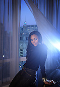"""Regina Hall, star of """"About Last Night,"""" on Wednesday, Jan. 29, 2014 at the Trump International Hotel. (Brian Cassella/Chicago Tribune) B583496968Z.1 <br /> ....OUTSIDE TRIBUNE CO.- NO MAGS,  NO SALES, NO INTERNET, NO TV, CHICAGO OUT, NO DIGITAL MANIPULATION..."""
