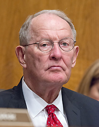 July 13, 2017 - Washington, District of Columbia, United States of America - United States Senator Lamar Alexander (Republican of Tennessee) Chairman, US Senate Committee on Health, Education, Labor, and Pensions, listens as Patrick Pizzella testifies on his nomination as Deputy US Secretary of Labor; and Marvin Kaplan and William Emanuel testify on their nominations as Members of the National Labor Relations Board before the  committee on Capitol Hill in Washington, DC on Thursday, July 13, 2007.Credit: Ron Sachs / CNP (Credit Image: © Ron Sachs/CNP via ZUMA Wire)
