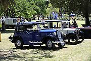 Austin 7 vintage car. 2009 Guildford Heritage Festival, Western Australia