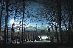 View on Fazanerija stadium before football match between NS Mura and ND Gorica in 22nd round of Prva liga Telekom Slovenije 2020/21, on 20 February, 2021 in Fazanerija city stadium in Murska Sobota, Slovenia. Photo by Blaž Weindorfer / Sportida