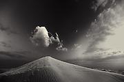Dune and Cloud - Arabian Desert, U.A.E.