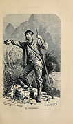 Englishman engraving on wood From The human race by Figuier, Louis, (1819-1894) Publication in 1872 Publisher: New York, Appleton