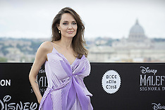 Maleficent Photocall Rome - 7 Oct 2019