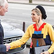 NLD/Amsterdam/20151217 - Koningin Maxima aanwezig bij Prix de Rome 2015, Koningin Maxima