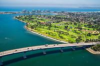 San Diego-Coronado Bridge & Coronado Municipal Golf Course