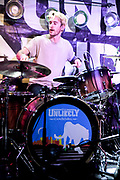 Kevin Goddard, Drummer for The Unlikely Candidates at The Moroccan Lounge, Los Angeles, California - March 7th, 2020