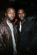 """l to r: Janime Hector and Keshawn Kearse at The Russell Simmons and Spike Lee  co-hosted """"I AM C.H.A.N.G.E!"""" Get out the Vote Party presented by The Source Magazine and The HipHop Summit Action Network held at Home on October 30, 2008 in New York City"""