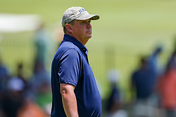 May 25, 2018 - Forth Worth, TX, U.S. - FORT WORTH, TX - MAY 25:  Jason Dufner of the United States waits to putt on the 5th green during the second round of the Fort Worth Invitational on May 25, 2018 at Colonial Country Club in Fort Worth, TX. (Photo by Andrew Dieb/Icon Sportswire) (Credit Image: © Andrew Dieb/Icon SMI via ZUMA Press)