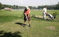 AERDENHOUT - Bloemendaalse GC Marienweide op de velden van hockeyclub Rood-Wit. foto Koen Suyk