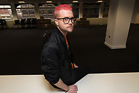 Christopher Wylie, Canadian whistleblower and ex-Cambridge Analytica employee photographed in London on March 25th 2018.