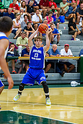 28 June 2014: Hunter Rhodes 2014 Boys Illinois Basketball Coaches Association All Start game at the Shirk Center in Bloomington IL