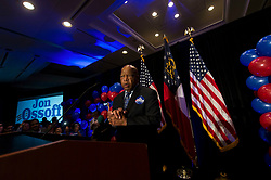 June 20 2017 - Atlanta, Georgia, U.S. -  Representative JOHN LEWIS (D - GA) speaks at an election night rally for Georgia Sixth District's Democratic candidate, Jon Ossoffl.  Ossoff lost his election bid against Republican Karen Handel forthe open House seat in what was the most expensive Congressional race in history.  A reported 50 million dollars was spent in aggregate by the two campaigns.(Credit Image: © Brian Cahn via ZUMA Wire)