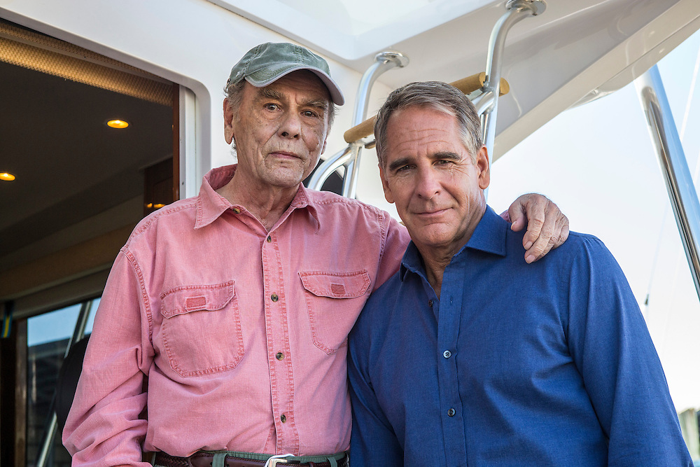 """Behind the scenes with Dean Stockwell and Scott Bakula reunited again in CBS's """"NCIS: New Orleans"""" Season 1"""