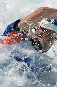 20040820 Olympic Games Athens Greece [Kayak Slalom Racing].Olympic Canoe/ Kayak Centre.GBR K1 Bronze medal winner, Campbell Walsh. second run.Photo  Peter Spurrier..Images@intersport-images.com.Tel +44 7973 819551.