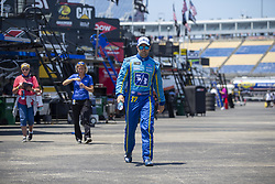 July 13, 2018 - Sparta, Kentucky, United States of America - Ricky Stenhouse, Jr (17) gets ready to practice for the Quaker State 400 at Kentucky Speedway in Sparta, Kentucky. (Credit Image: © Stephen A. Arce/ASP via ZUMA Wire)